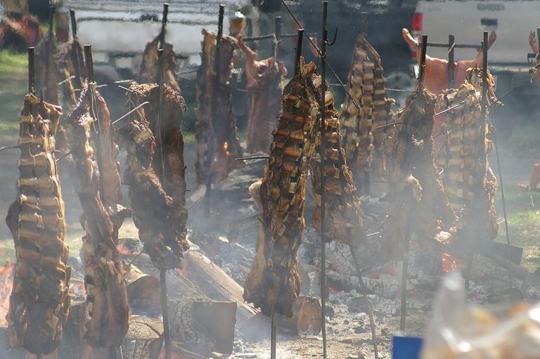 Gaucho BBQ in Argentina