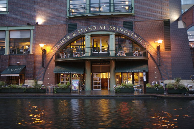 Brindleyplace's Pitcher and Piano