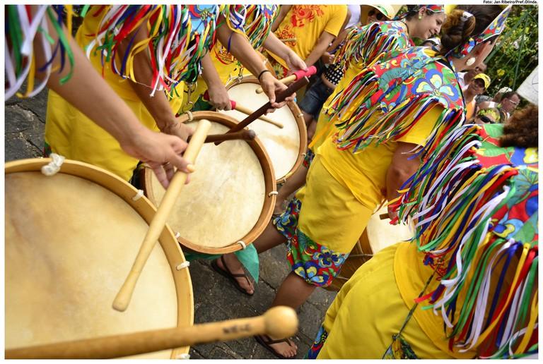 Carnival in Olinda, Brazil /