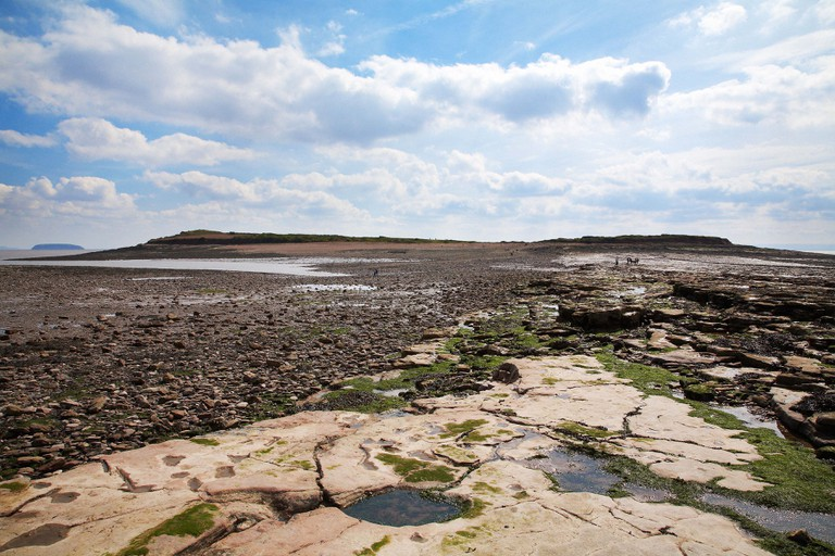 Sully island, south Wales.
