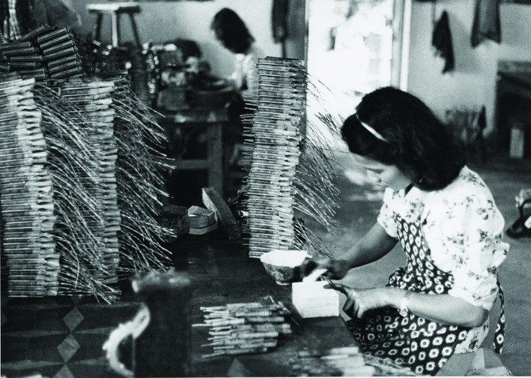 Firecracker industry in Macau was labour-intensive
