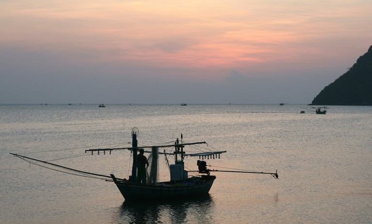 Seafood is plentiful in the coastal areas of Thailand