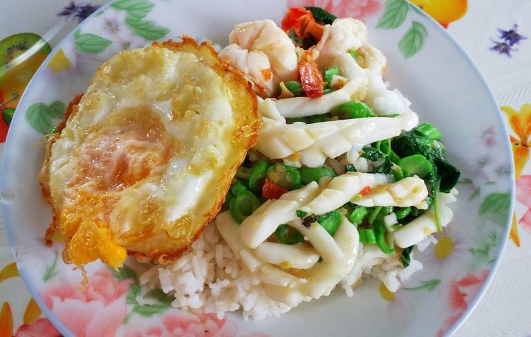 Thai seafood dish