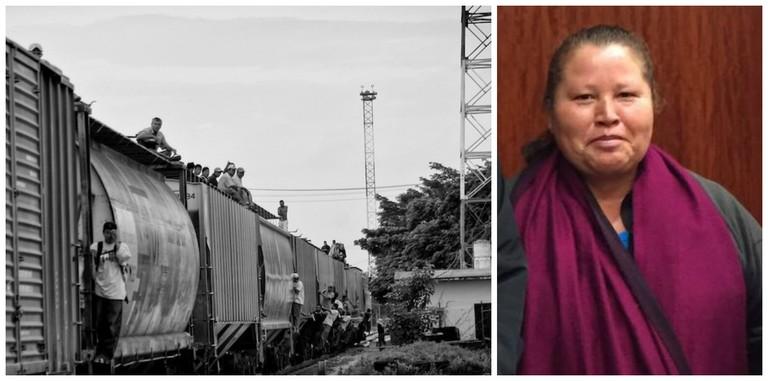 Immigrants on La Bestia train | © Peter Haden/Flickr / Norma Romero | © Aneladgames/WikiCommons