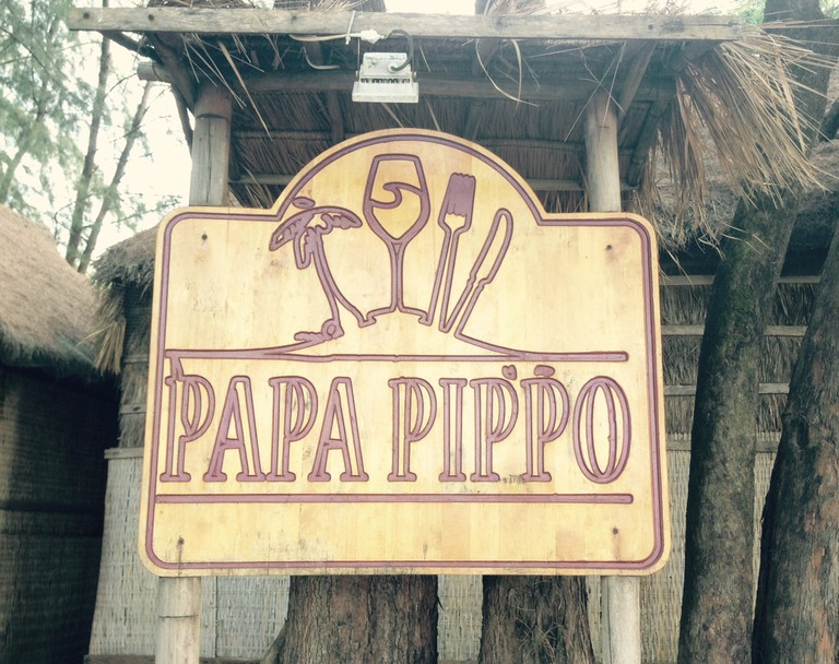 The place to go for pizza and pasta: Papa Pippo, Otres