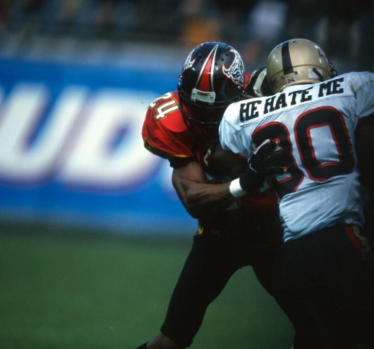 "Rod Smart aka ""He Hate Me"" against the San Francisco Demons | © ESPN Films"