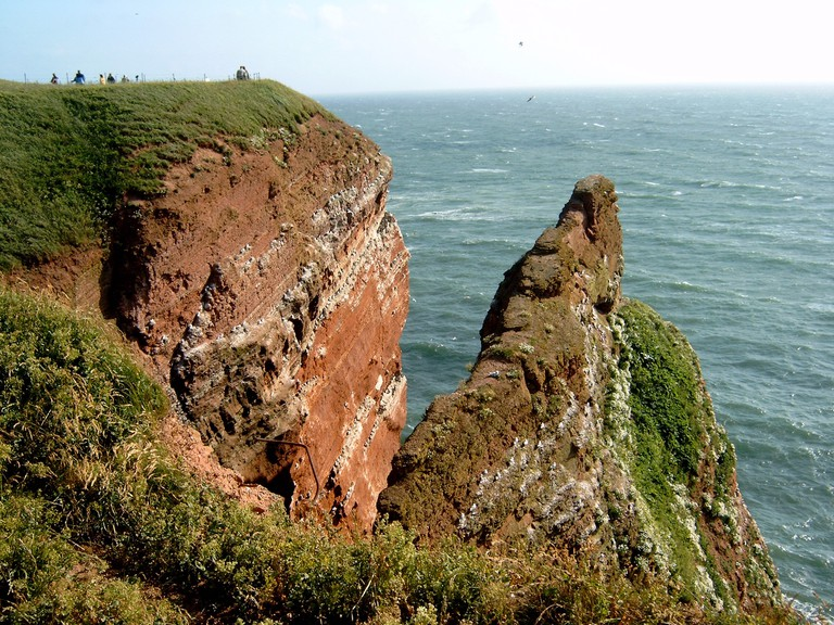 The red cliffs of Helgoland