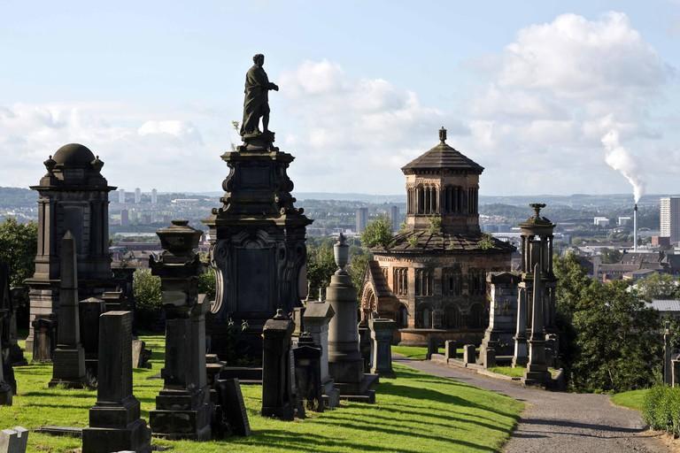 Necropolis, Glasgow, Scotland.