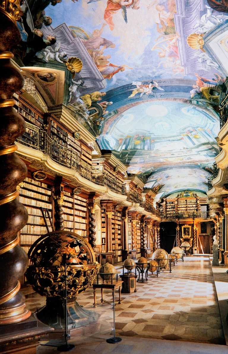 Baroque Library, Prague, Czech Republic