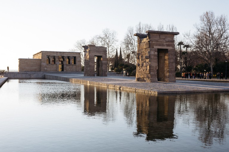 Templo Debod-Madrid-Spain