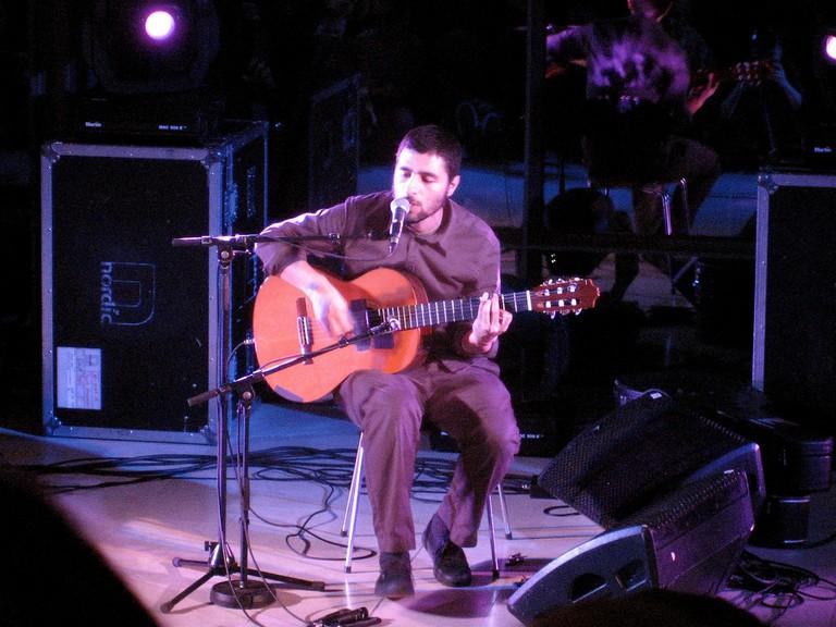 José González performing
