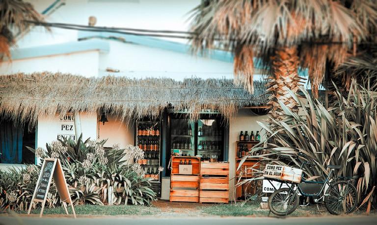 A local store in Jose Ignacio
