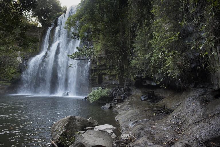 Llano de Cortes waterfall/Kaitlyn Shea
