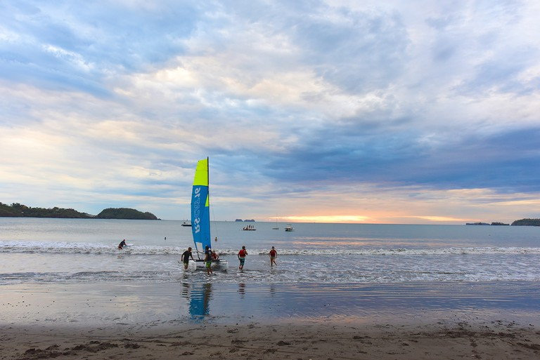 Learn to sail at Costa Rica Sailing Center in Playa Portero/Kaitlyn Shea