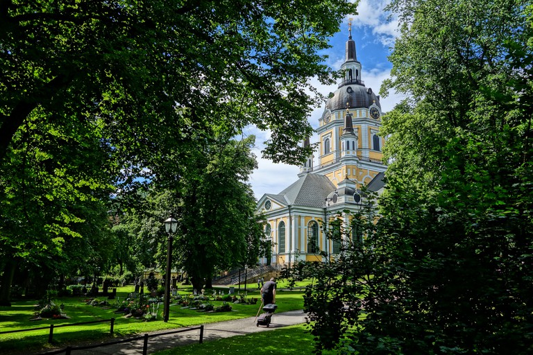 Every time Katarina Kyrka burns down, Stockholm rebuilds it