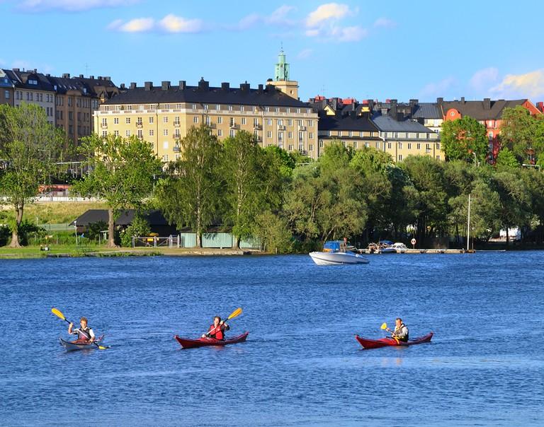 Kayaking in Stockholm | ©David Forsman/Flickr