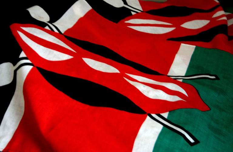 The Kenyan flag | © Kevin Walsh / Flickr