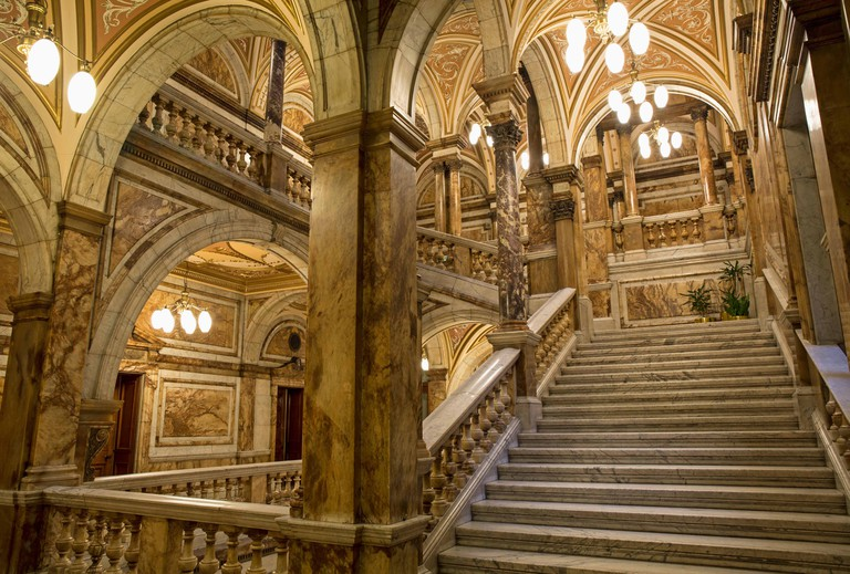 Glasgow City Chambers. Scotland.
