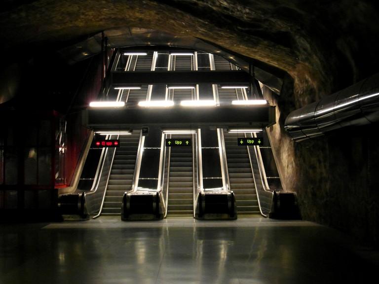 Stockholm – Tunnelbana – Kungsträdgården