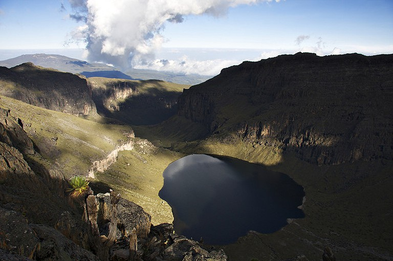 Lake Michaelson, Mt. Kenya