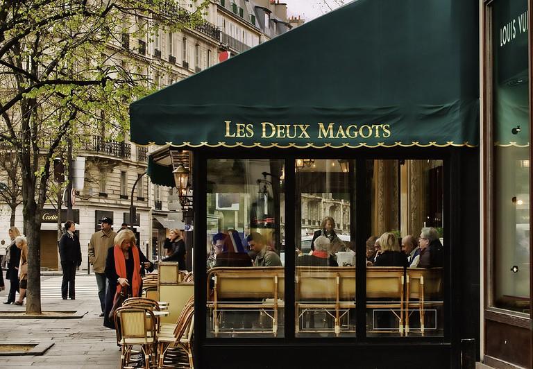 Les Deux Magots café │© roger.salz