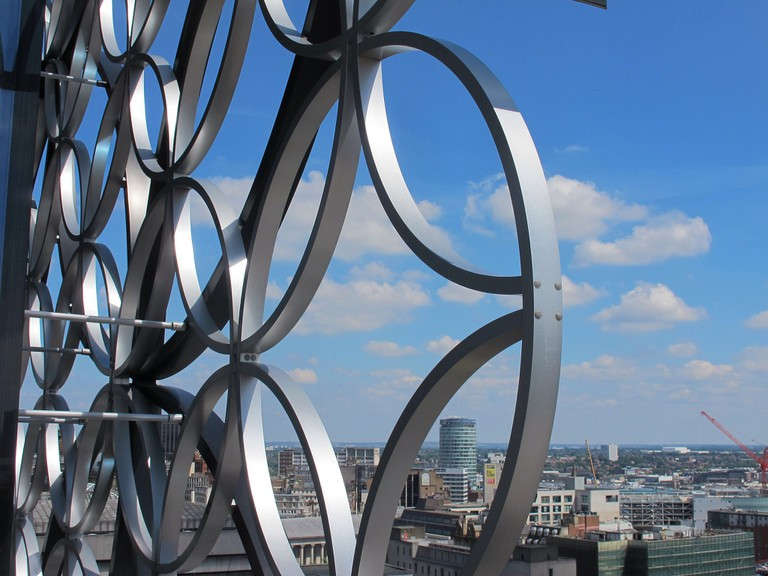 Library of Birmingham view
