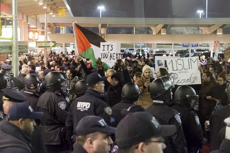 JFK Protest © LuminaryTraveller