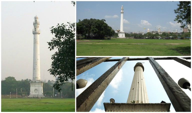 Various views of the majestic Shaheed Minar