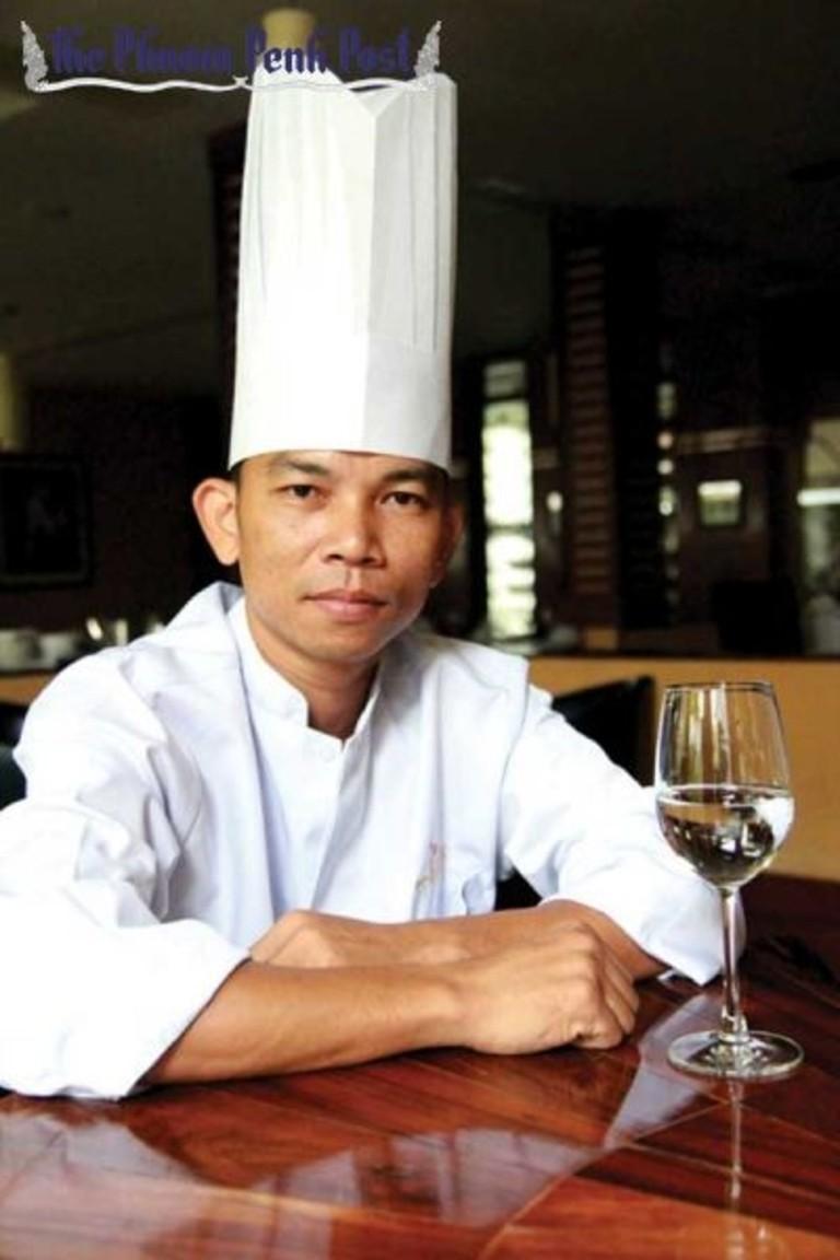 Pov --- has dedicated 14 years to working at Topaz Calvin Yang/ Phnom Penh Post