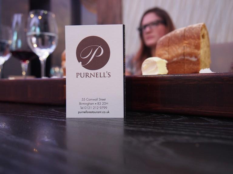 Purnell's Restaurant in Birmingham