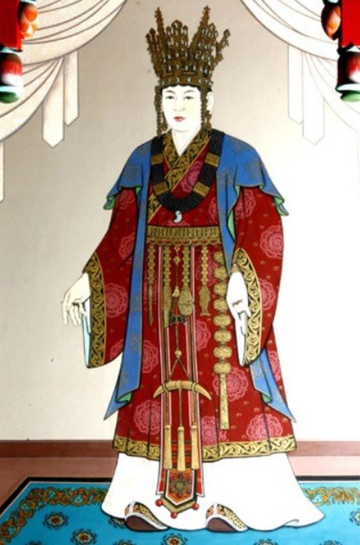 Queen Seondeok of the Silla Kingdom, via Wikimedia Commons