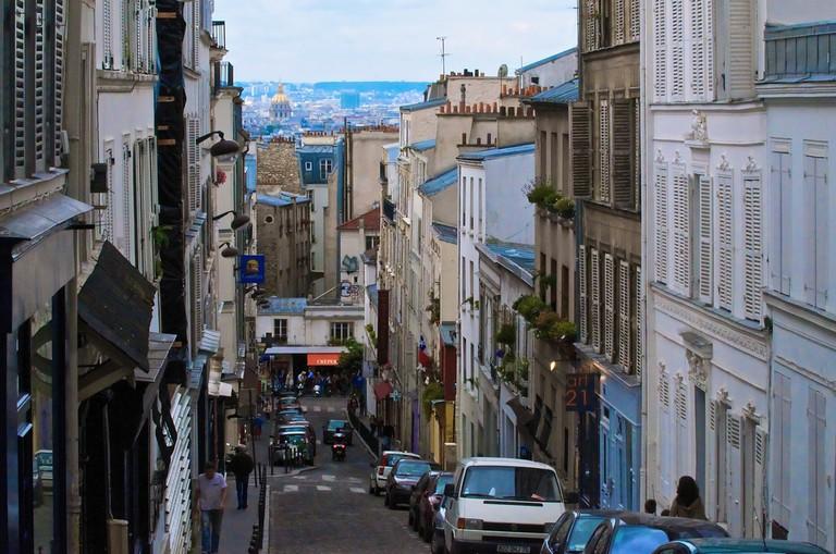 Rue Lepic │© Larry Johnson / Flickr