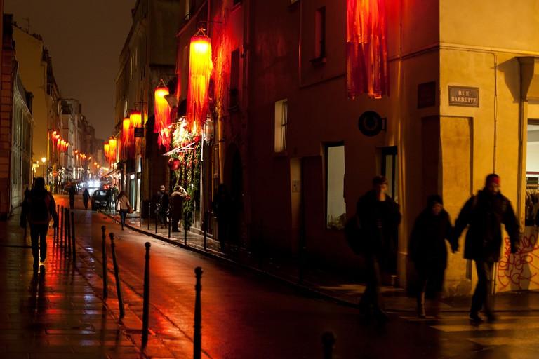 Rue Vieille du Temple │