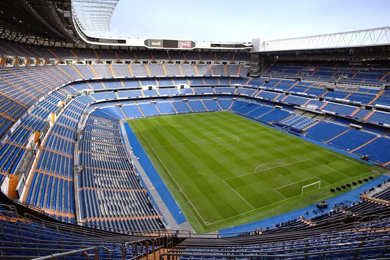The new Santiago Bernabéu stadium will be 12 meters larger, coming in 2018