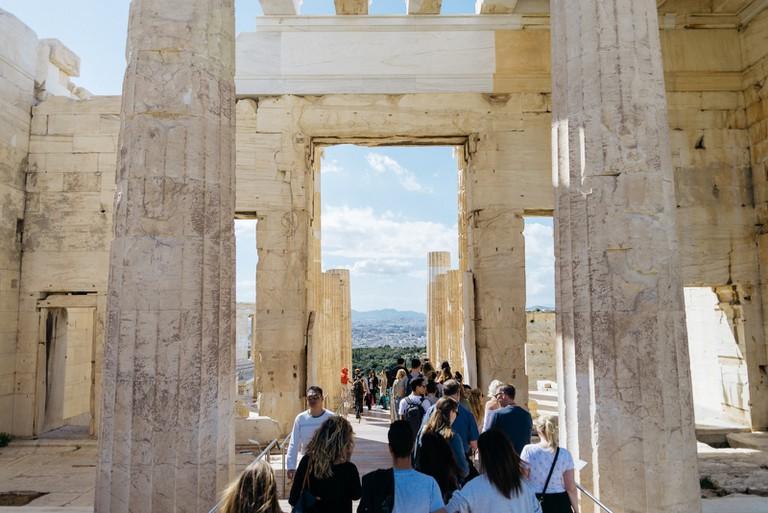 PROPYLAIA-ATHENS-GREECE