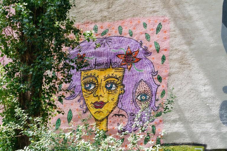 Neubau-Vienna Street Art-Vienna-Austria