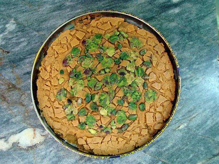 The highly addictive Sohan saffron brittle