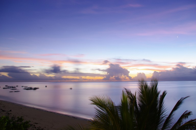 Sun rise at Malindi beach | © Xiaojun Deng / Flickr