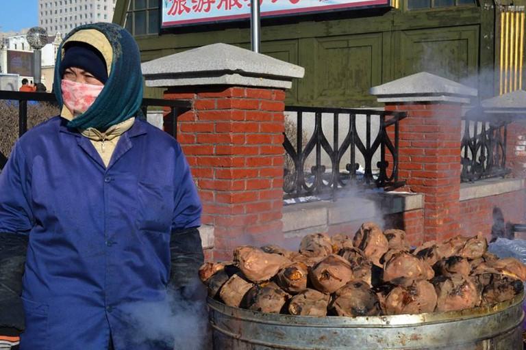 Sweet Potatoes in Winter