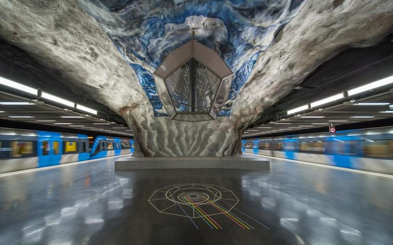 Tekniska högskolan metro station