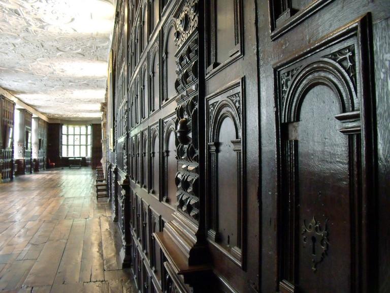The Long Hall at Aston Hall