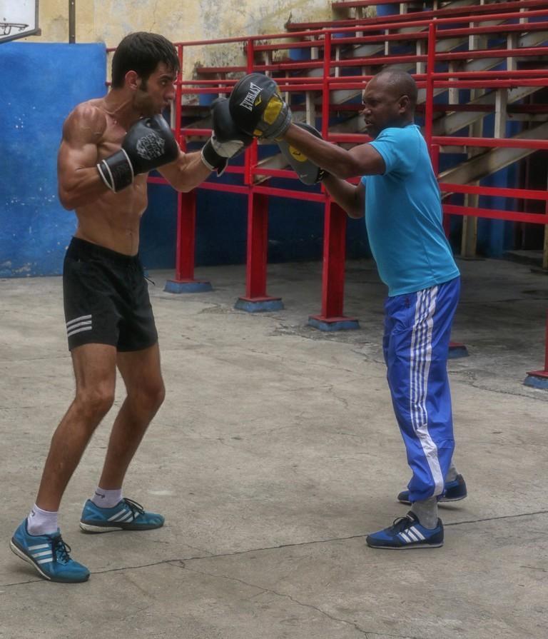 Boxing at Rafael Trejo Boxing Gym