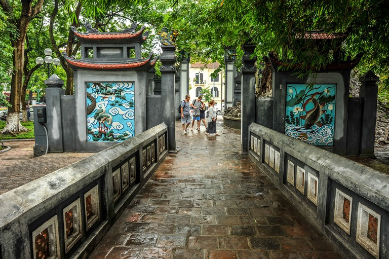 Hanoi Temple © HaiRobe/Pixabay