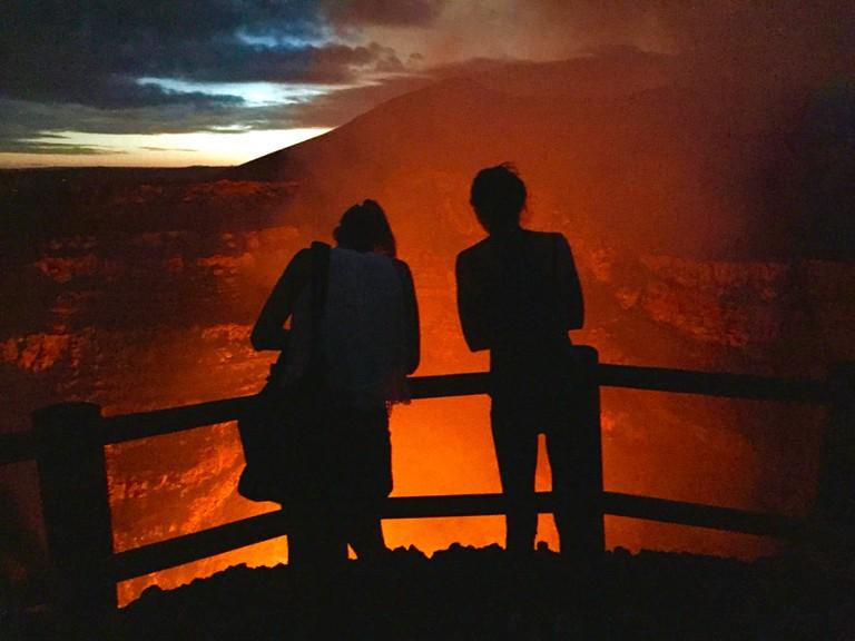 Masaya Lava Lake