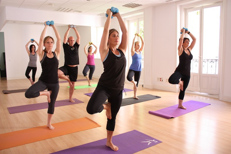 Viva Sculpt combines yoga with weight training