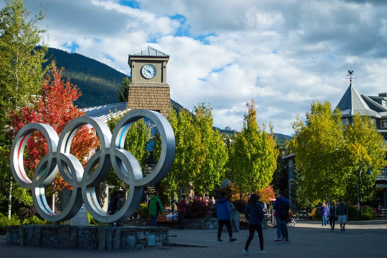 Whistler's Olympic Village