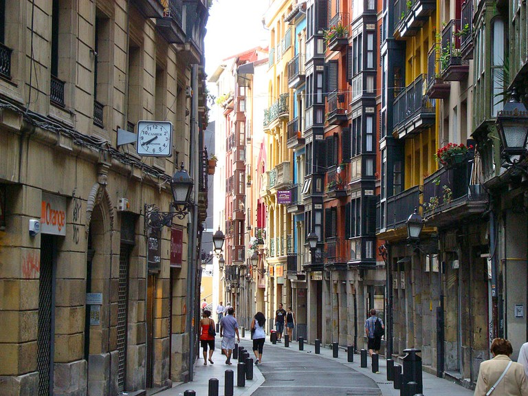 Casco Viejo Bilbao, Spain | ©Mikemod / Wikimedia Commons