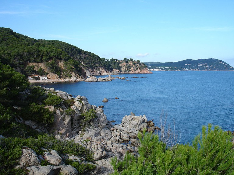Cala el Crit, Costa Brava, Spain | ©Monllase / Wikimedia Commons