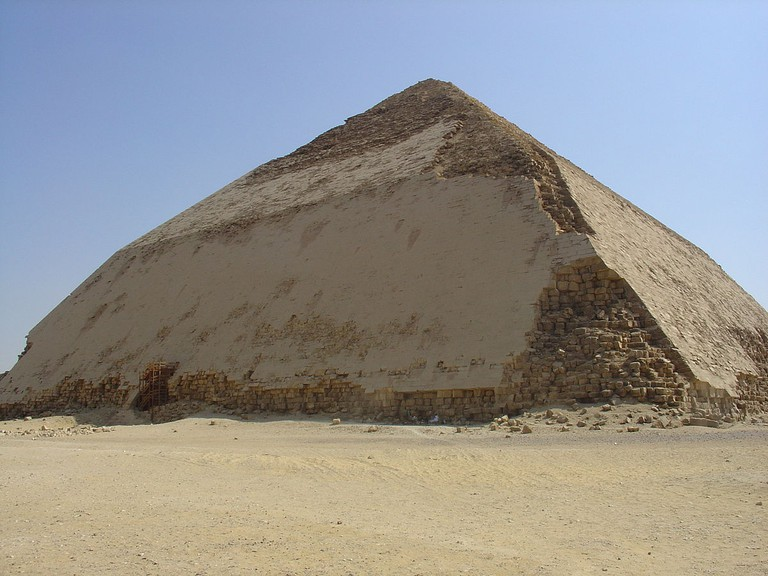 Bent Pyramid in Dahshour