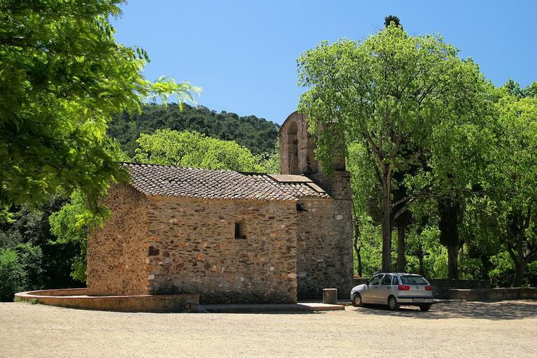 The humble chapel of Sant Medir © Jorge Franganillo